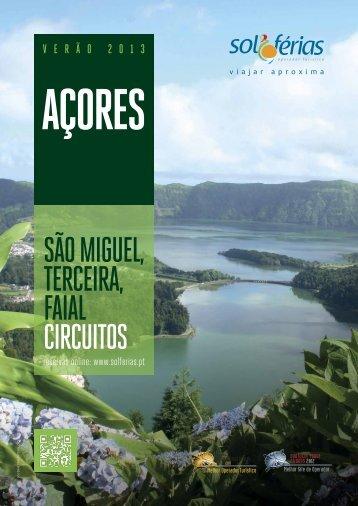 SÃO MIGUEL, TERCEIRA, FAIAL CIRCUITOS - Solférias