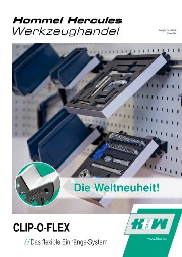 CLIP-O-FLEX Die Weltneuheit! - Hommel & Seitz