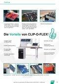 CLIP-O-FLEX Die Weltneuheit! - Hommel & Seitz - Page 3