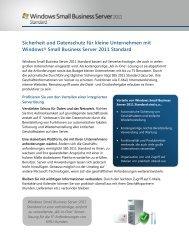 Windows Small Business Server 2011 Standard - Microsoft
