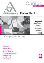 Veranstaltungen - Caritasverband der Erzdiözese München und ...