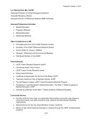 information - UCSF Fresno