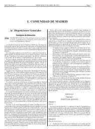 I. COMUNIDAD DE MADRID