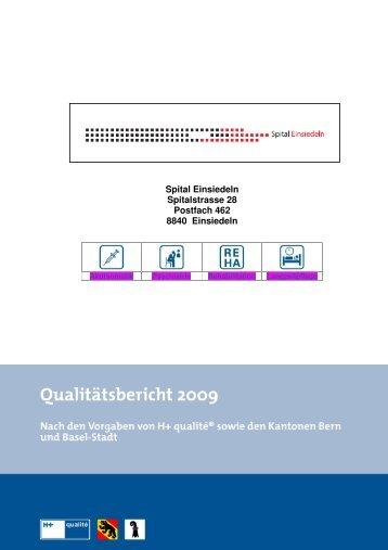 Qualitätsbericht 2009 - Spital Einsiedeln