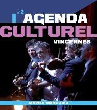 Agenda culturel de Vincennes, janvier-mars 2013 (pdf - 6,77 Mo)
