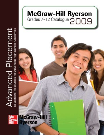 NEW! - McGraw-Hill Ryerson