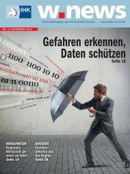Datenschutz | w.news 11.2013