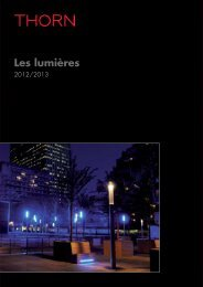 Thorn Lighting - Les Lumieres 2012/2013