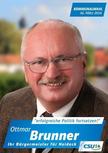 Wahlprogramm zur Kommunalwahl 2014