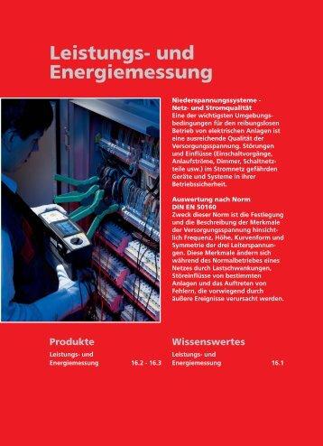 Beha Amprobe Leistungs- und Energiemessung - Ulrichmatterag.ch