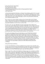 das Grußwort von Frau Bürgermeisterin Plenk in pdf-Format - in der ...