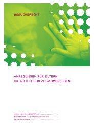 Flyer Besuchsrecht - Zuger Fachstelle punkto Jugend und Kind