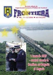 Nr. 11-12/2006 - Politia de Frontiera