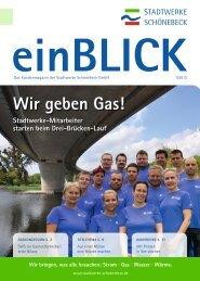 Wir geben Gas! - Stadtwerke Schönebeck GmbH