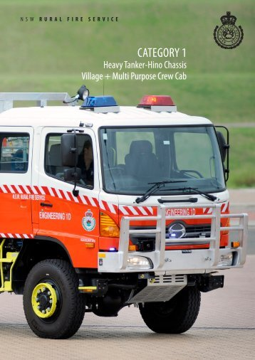 CATEGORY 1 - NSW Rural Fire Service