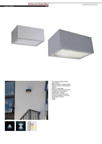 Zelda Maxi Fluorescent G24d-3 - Spazio Lighting