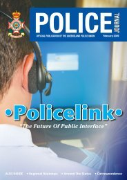 Queensland Police Union of Employees February 2009 Journal
