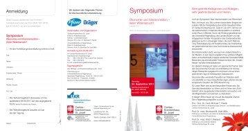 Programmflyer (pdf) - Universitätsklinikum Regensburg