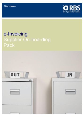 e-Invoicing Supplier On-boarding Pack - Heathrow Airport