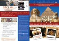 21 Day Everything EGYPTIAN plus JORDAN CAIRO • SINAI • NILE ...
