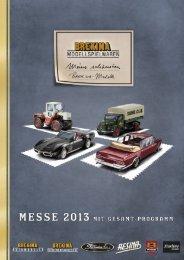 Prospekt Messe 2013 - Brekina