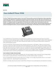 Cisco Unified IP Phone 7970G