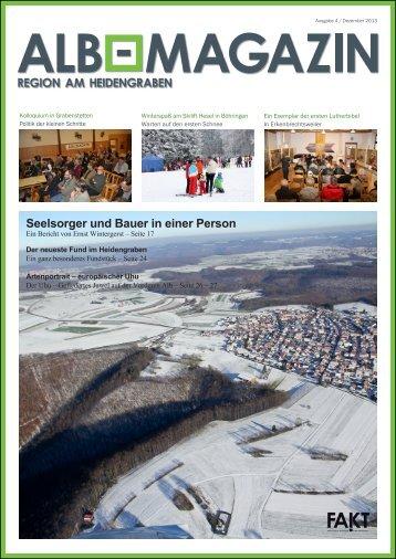 Alb Magazin - Ausgabe Heidengraben 4/2013