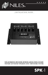 DS00059BCN-0 SPK-1.indd - Niles Audio