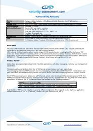CoolPreviews - addon vulnerability - Security Assessment