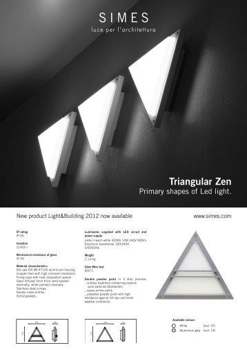 Triangular Zen - SIMES S.p.A.