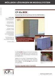 Download CP Alu BOX-Prospekt - CP-CARPORT