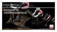 Team Danmark eliteSPORt OG UNGDOMSUDDANNelSe