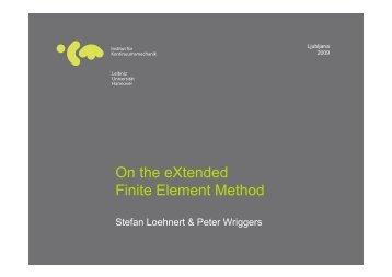 On the eXtended Finite Element Method