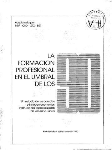 Volumen 2 - OIT/Cinterfor
