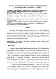 Modelo para a formatação dos artigos para publicação nos ... - Unifra