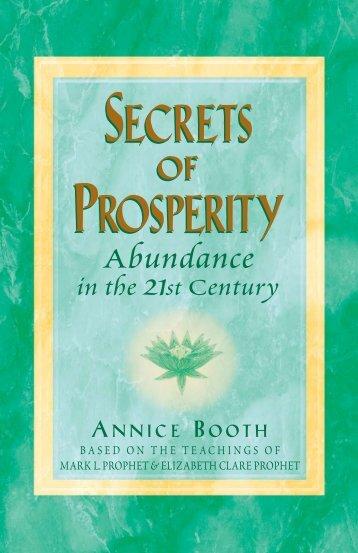 Secrets of Prosperity - Summit University Press