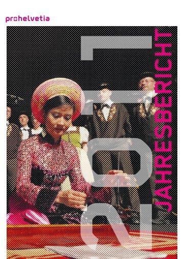 Jahresbericht 2011 (PDF) - Pro Helvetia