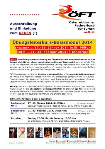 Basismodul - Österreichischer Fachverband für Turnen