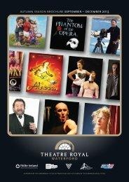 Theatre Royal Winter Season brochure - Waterford Viking Triangle
