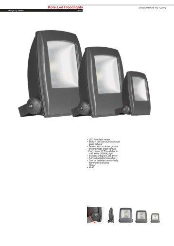 Kore Led Footlights - Spazio Lighting