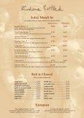 À La Carte - Kama Sutra Restaurant Group - Page 6