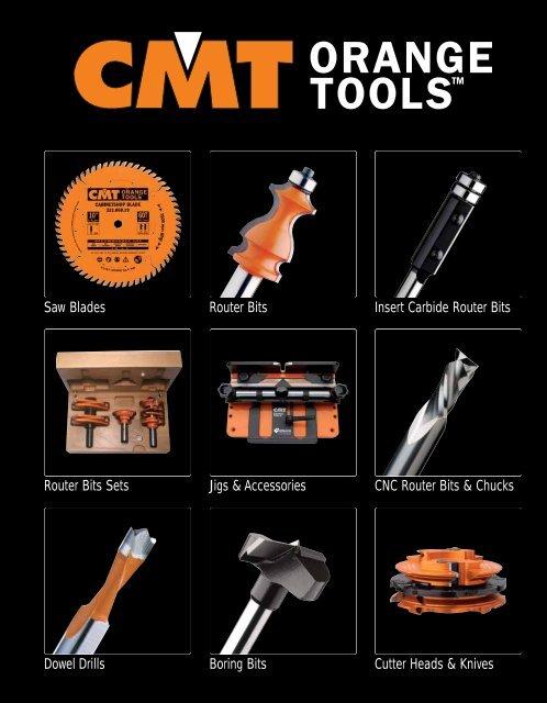 1//2-Inch Shank CMT 837.950.11 Cove Bit 5//8-Inch Radius Carbide-Tipped,Orange