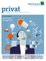 Kundenmagazin privat, Ausgabe 3/2012 (PDF 5 MB) - westfalica