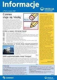 Connex staje się Veoli¹ - Veolia Transport