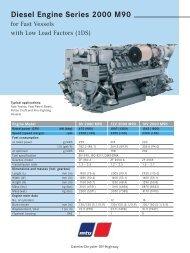 Diesel Engine Series 2000 M90 - TransDiesel