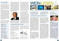 WeinLesen - 8. Ausgabe 2014/2015 - Adrian & Diego Mathier Nouveau Salquenen AG