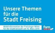 können Sie unser Themenheft im PDF-Format ... - Freisinger Mitte