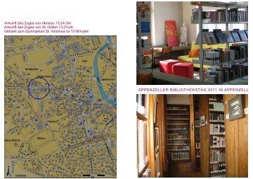 Appenzeller Bibliothekstag 2011 - Bibliothek Appenzell