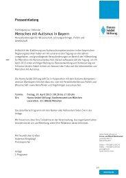 Fachtagung zur Inklusion: Menschen mit Autismus in Bayern ...