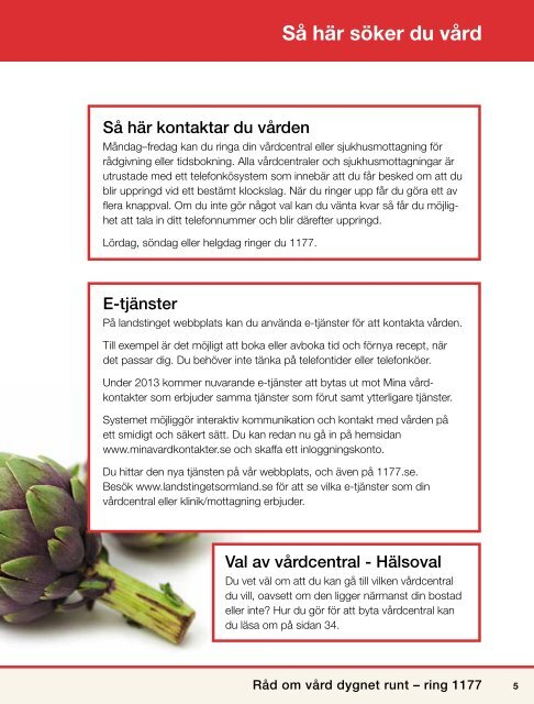 Landstingskatalogen - Landstinget Sörmland